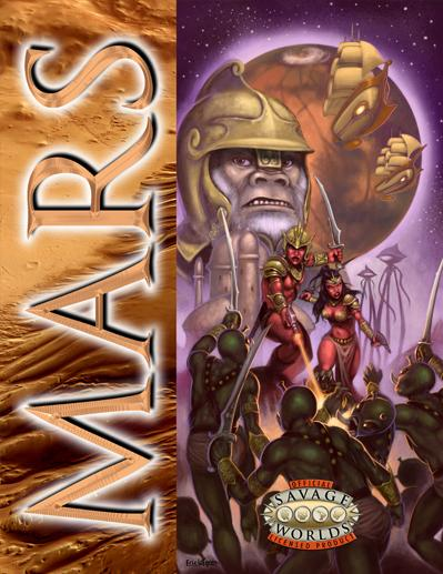 Savage Worlds RPG: MARS