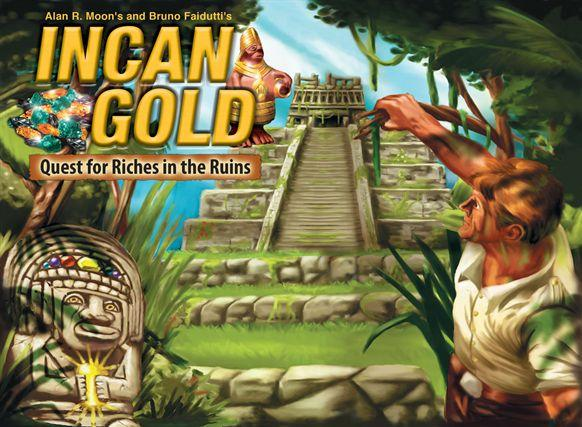 Gryphon Bookshelf Games #6: Incan Gold - Quest for Riches in the Ruins