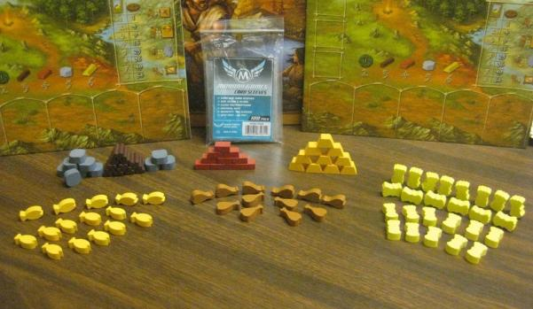 Game Accessories: Stone Age Wooden Token Set