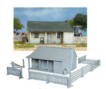28mm American Civil War: North American Farmhouse 1750-1900 (1)