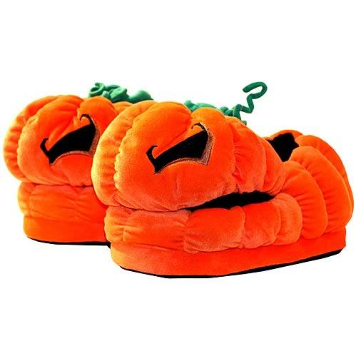 Monsters Plush - Halloween: Jack O' Lantern Slippers (Limited Edition)