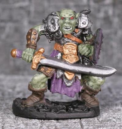 Reaper Legendary Encounters: Orc Warriors with Scimitars (3)