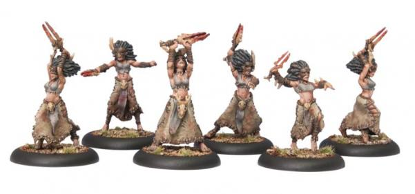 Hordes (Circle Orboros) Tharn Bloodweavers Unit