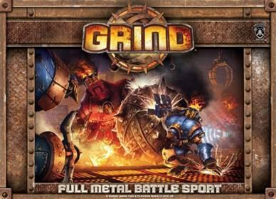 Grind: Full Metal Battle Sport Board Game