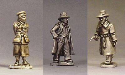 28mm Thrilling Tales (Pulp): Scotland Yard Detectives (3)