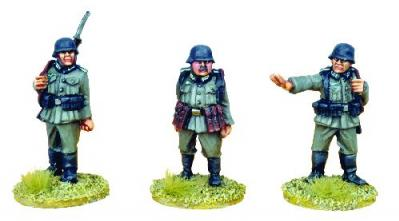 28mm Thrilling Tales (Pulp): German Sentries (3)