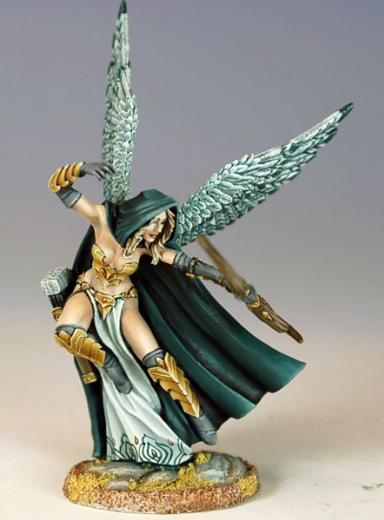 Visions In Fantasy: Thief Of Hearts, Winged Female Archer
