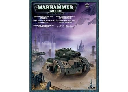 Warhammer 40K: Imperial Guard Leman Russ Demolisher