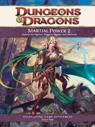 Dungeons & Dragons 4th Edition Supplement: Martial Power 2 (MP2)
