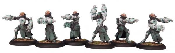 Warmachine: (Retribution Of Scyrah) House Shyeel Battle Mages
