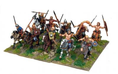 28mm Ancients - Celt Cavalry (10)
