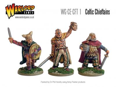 28mm Ancients - Celtic Chieftains Pack
