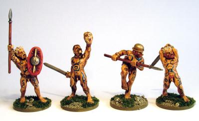 28mm Ancients - Celtic Naked Fanatics (8)