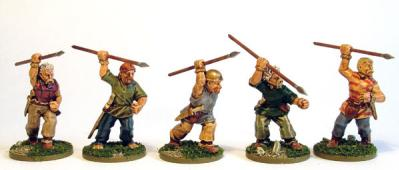 28mm Ancients - Celtic Javelinmen (8)