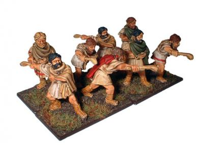 28mm Ancients - Balearic Slingers (8)