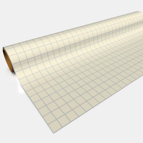 Gaming Paper: Original Tan 1″ Square Roll