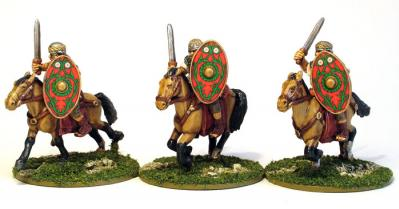 28mm Ancients - Imperial Roman Aux Cavalry  (3)