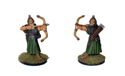 28mm Ancients - Eastern Auxiliary Archers (8)