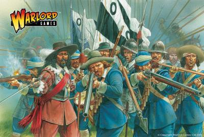 28mm Pike & Shotte - Royalist Infantry(40)