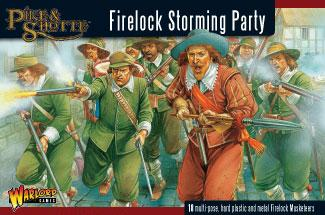 28mm Pike & Shotte - Firelock Storming Party (18)