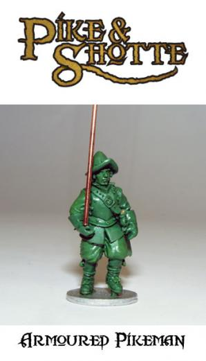 28mm Pike & Shotte - Armoured Pikemen (8)