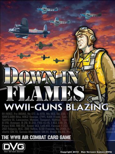 Down In Flames: Guns Blazing (WW2 Air Combat Card Game)