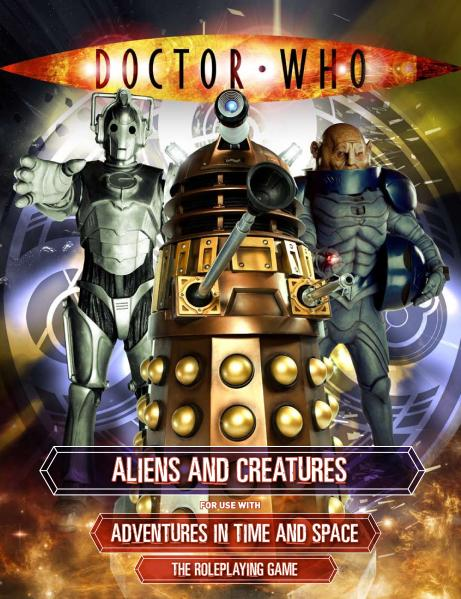 Doctor Who RPG: Aliens and Creatures
