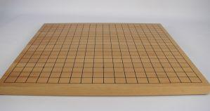 Go Game: Go Board Thick Flat in Wood