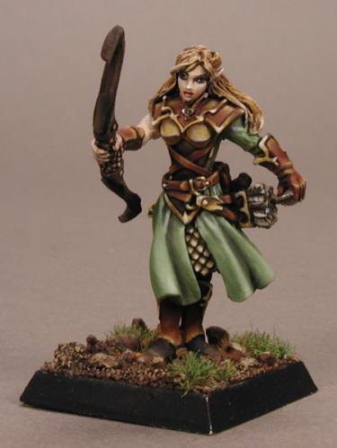 Warlord: Lorielle Silverrain, Female Elf Archer