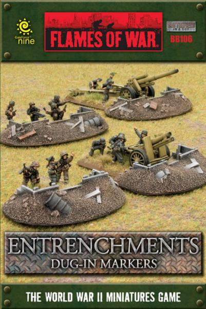 Battlefield in a Box: Entrenchments Dug-in Markers