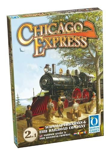 Chicago Express Expansion: Narrow Gauge and Erie Railroad