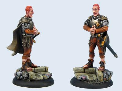 28mm Discworld Miniatures: Captain Carrot Ironfoundersson
