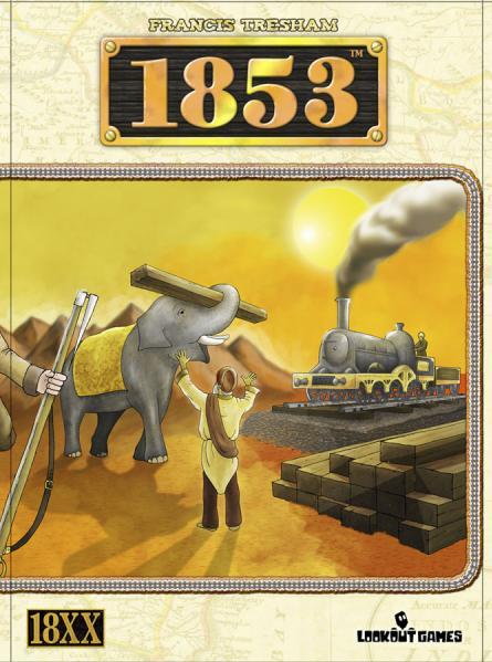 1853 India - Railway Building Game