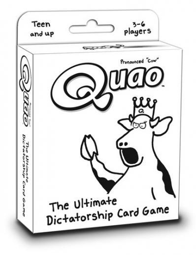 Quao: The Ultimate Dictatorship Card Game  (Revised)