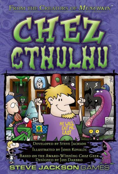 Chez Cthulhu Card Game