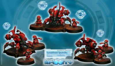 Infinity (#210) Nomads: Lunokhod Sputniks (CrazyKoalas)