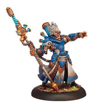 Warmachine: (Cygnar) Commander Adept Sebastian Nemo, Warcaster