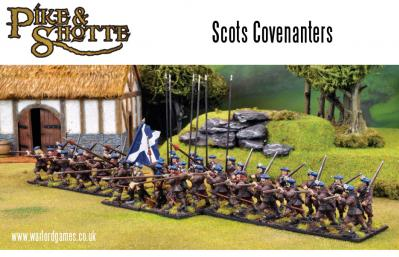 28mm Pike & Shotte - Covenanter Infantry (40)