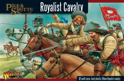28mm Pike & Shotte - Royalist Cavalry (12)