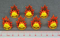 Game Tokens: Artillery Strike Markers, Small (7)