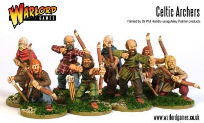 28mm Ancients - Celt Archer Contubernium (8)