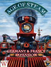 Age of Steam Expansion - Germany/France