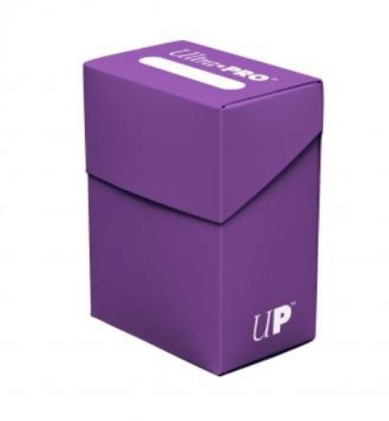 Ultra Pro:  New Standard Purple Deck Box