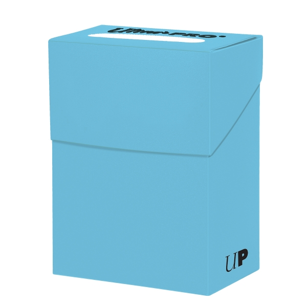 Ultra Pro: New Standard Light Blue Deck Box