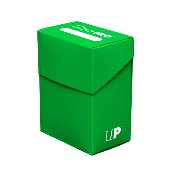 Ultra Pro:  New Standard Light Green Deck Box