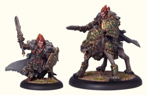 (Circle Orboros) Wolf Lord Morraig