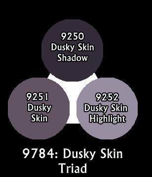 Master Series Paints: Dusky Skin Triad