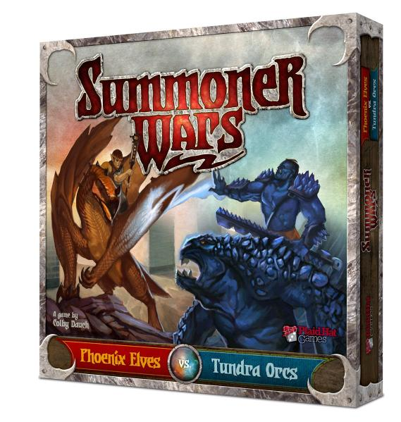 Summoner Wars Starter Set: Phoenix Elves vs. Tundra Orcs
