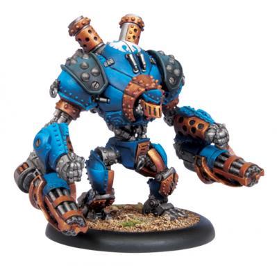 Warmachine: (Cygnar) Heavy Warjack (Plastic)