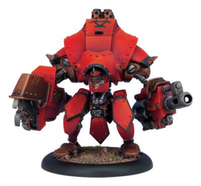Warmachine: (Khador) Heavy Warjack (Plastic Kit)
